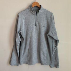Columbia Omni-Shield Half Zip Sweater size L